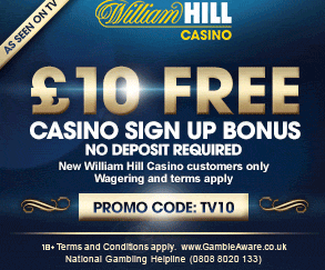 William Hill Casino 10€ FREE