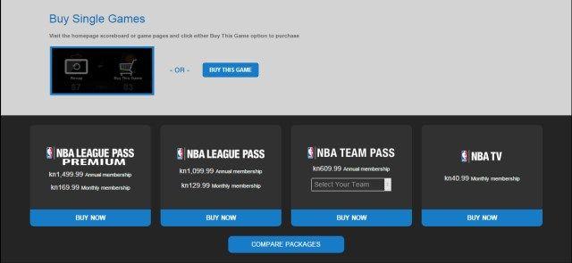 Gdje gledati NBA?