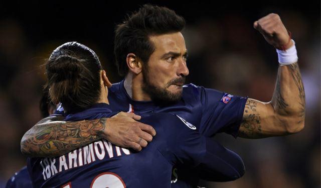 Ibrahimović želi da Lavezzi ostane