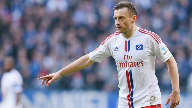 Ivica Olic (HSV) Fussball Bundesliga, Hamburger SV - Borussia Moenchengladbach