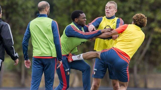 Igrači Feyenoorda se potukli