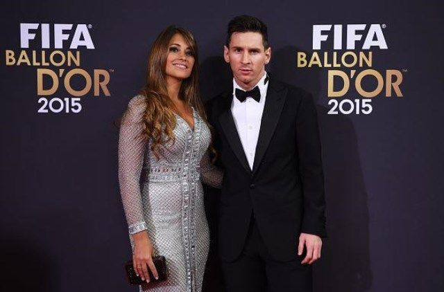 Messi sa ženom