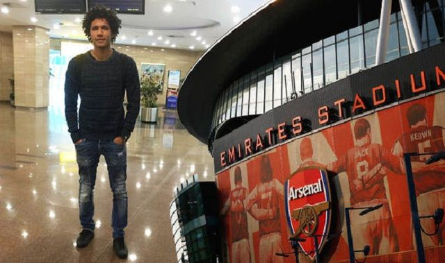 Mohamed Elneny je igrač Arsenala