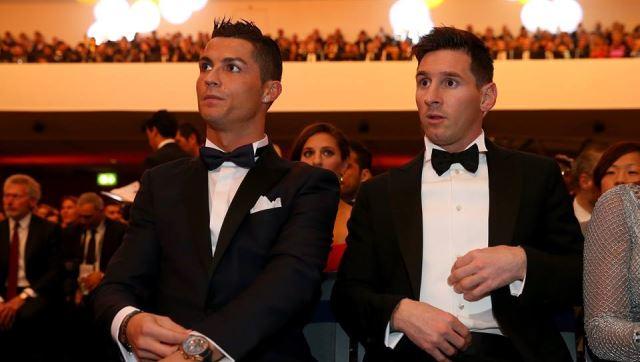 Reakcija Ronalda na Messijevu