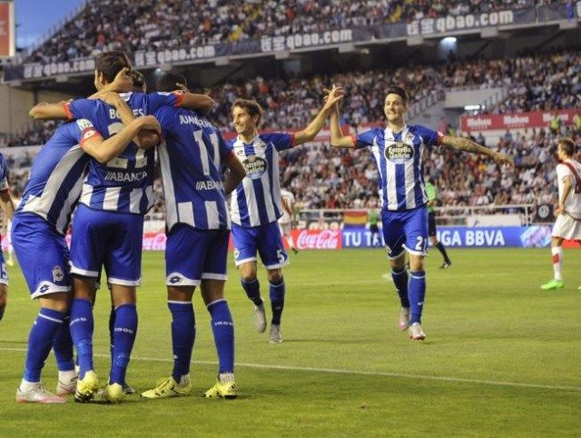 Deportivo La Coruna - Rayo Vallecano