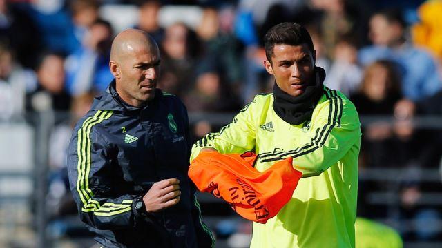 Ronaldo pokušao Zidaneu