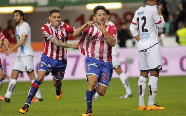 Sporting Gijon - Rayo Vallecano