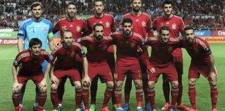 Španjolska sastav