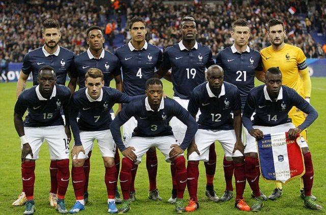 Zvijezda francuske reprezentacije