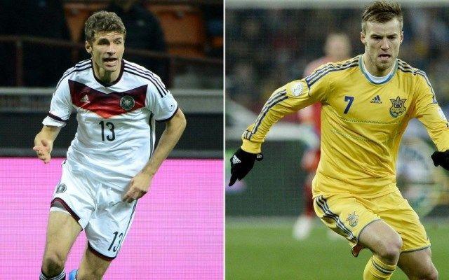 Njemačka - Ukrajina