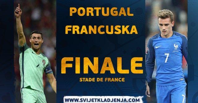 FINALE EURO 2016: Portugal – Francuska
