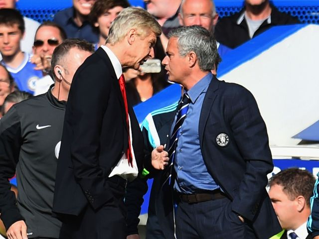 Wenger i Mourinho