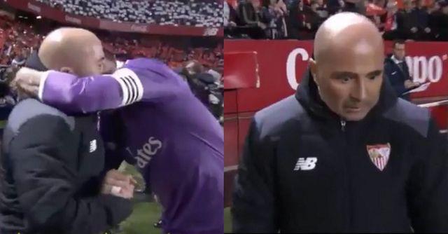 Pogledajte šta je Ramos rekao Sampaoliju i tako ga ostavio u čudu nakon utakmice (VIDEO)