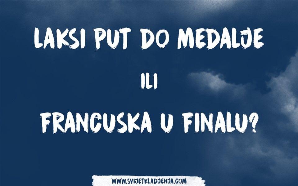 Kauboji pred teškom odlukom: Lakši put do medalje ili Francuska u velikom finalu?