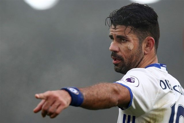 Nogometaši Chelseaja dobili slobodne dane, Diego Costa usamljen na treningu
