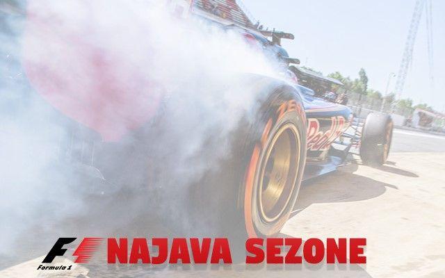 Najava sezone - Formula 1 2017.