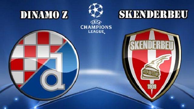 Dinamo Zagreb v Skenderbeu