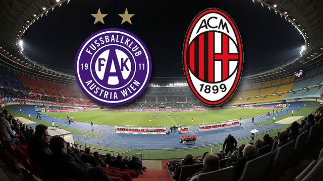 Austria Beč - AC Milan