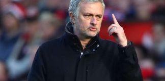 Jose Mourinho ljut