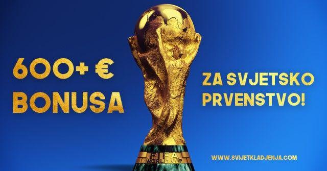 Svi bonusi za kladjenje za svjetsko prvenstvo u Rusiji