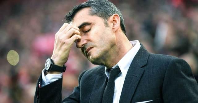 Valverde nakon poraza u Kupu Kralja