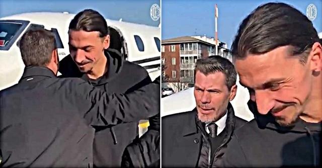 Ibrahimović se vratio u Milan