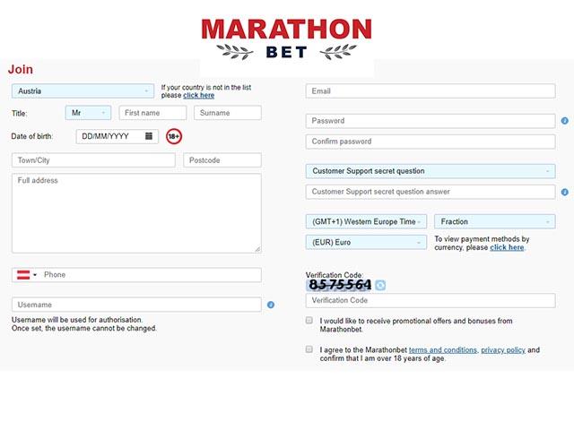 Marathon bet promo code
