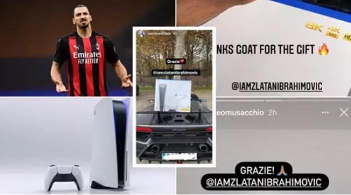 Zlatan Ibrahimović poklonio