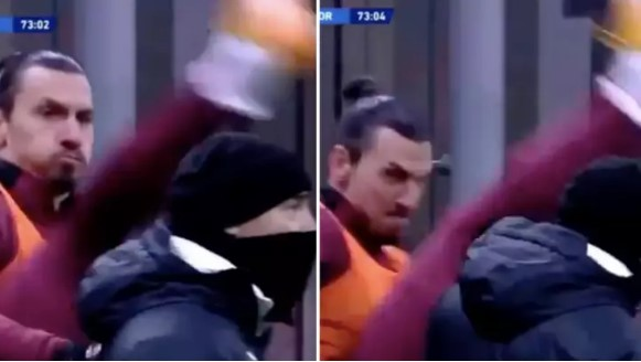 Zlatan Ibrahimović odradio
