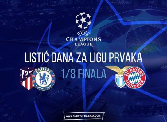 Listić dana za Ligu prvaka