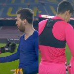(VIDEO) Vratar Elchea Edgar Badia izgledao šokiran kada je Lionel Messi zatražio njegov dres!