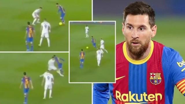 Trenutak kada je Messi