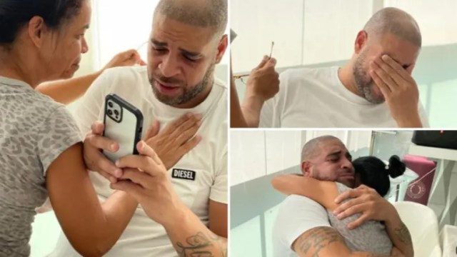 Adriano zaplakao