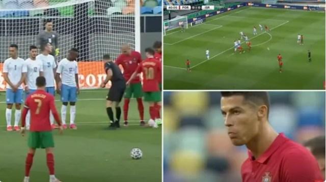 Cristiano Ronaldo se brutalno