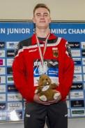 Brandt Moritz GER 400 Freestyle Men Final Gold Medal LEN 43rd Arena European Junior Swimming Championships Hodmezovasarhely, Hungary Day01 06-07-2016 Photo Andrea Masini/Deepbluemedia/Insidefoto