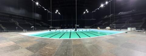 So er vatn í EM-hylinum í Royal Arena