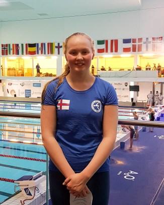 Signhild Joensen gull í 50 rygg á BSF 2018. Anita Nysted eigur myndina.
