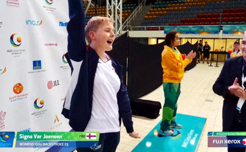 Signa Vár gull og silvur á INAS Global Games í Brisbane