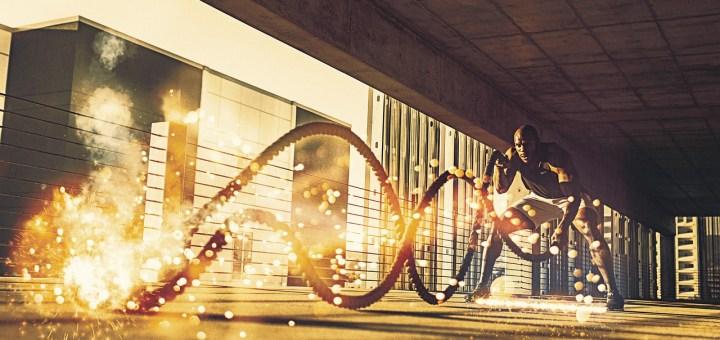 Man Gym Battling Ropes Ropes  - Dantegráfico / Pixabay