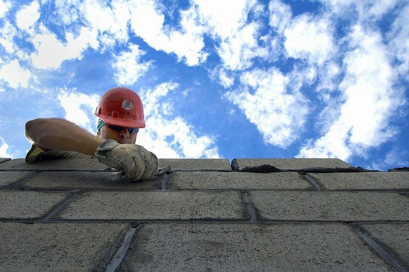 Sky Clouds Construction Brick Layer  - 12019 / Pixabay