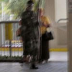 8322 – Camo-man lurks at the Bus Station.