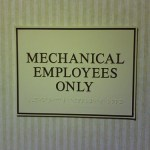 Mechanical Employees Only