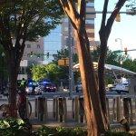 RT Katie Dvorak @KMDvorak87: .@unsuckdcmetro Something major going on at Clarendon Metro. TONS of police turning  cars away, blocking entrance. https://t.co/LjYu8QOfqz