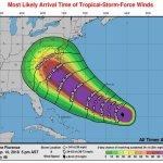 Hurricane at cat 4