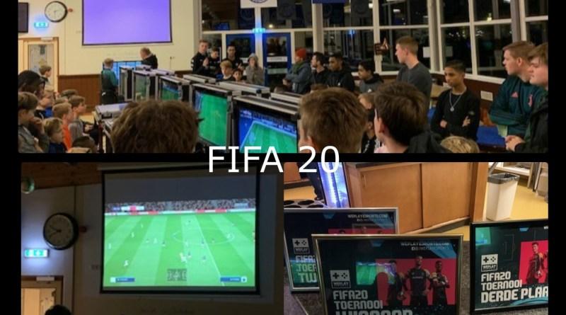 Team Frankrijk wint het FIFA20 evenement