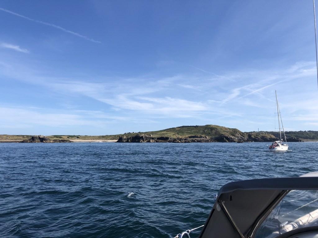 De kust van Alderney