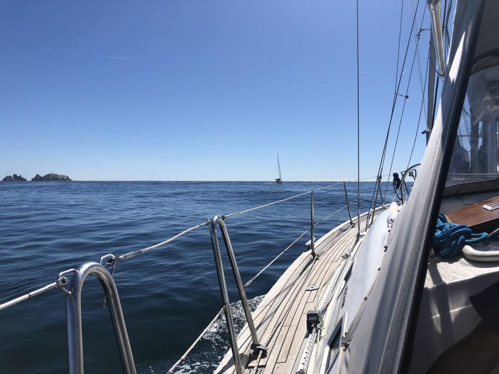 Het begin van de Alderney Swinge