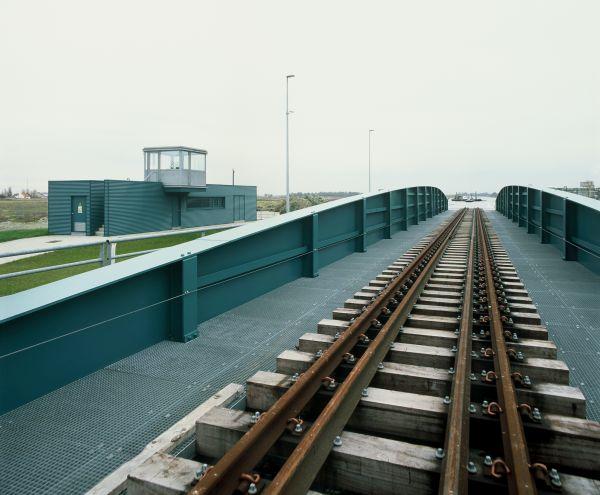 Railway bridge Plassendale, Ostende