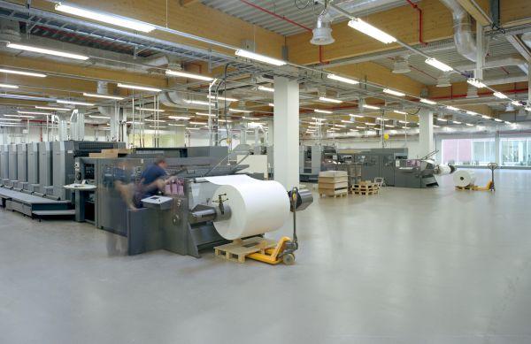 Printing Company Verstraete, Printing works,  offices (pfase 1)