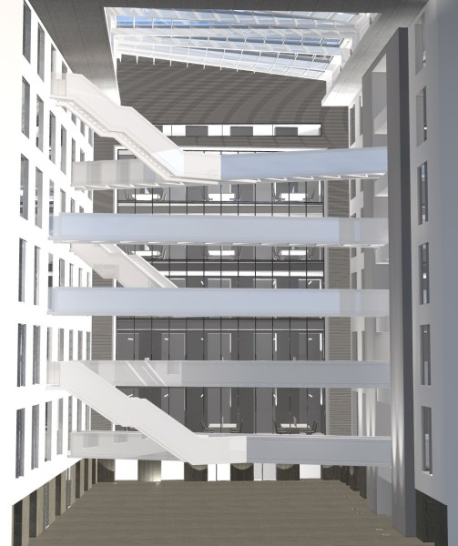 BNP PARIBAS FORTIS - Offices Chancellerie 1-9 (phase 2, design and procurement)